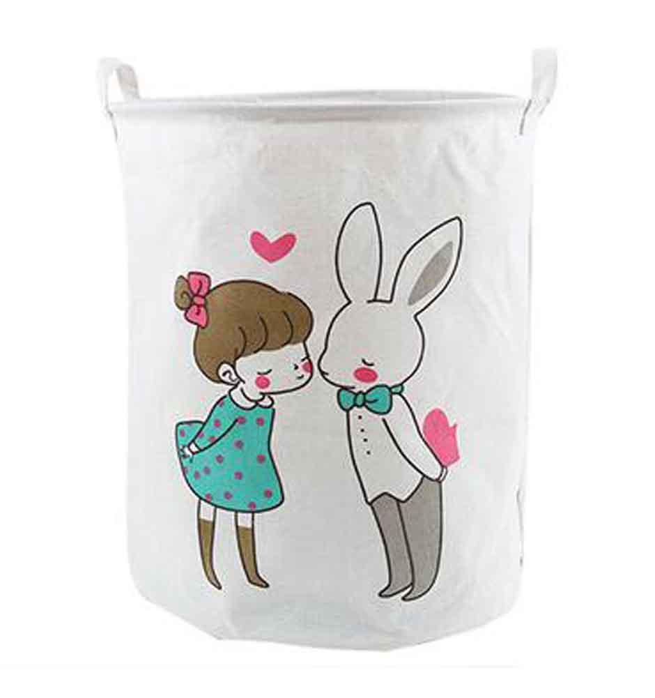 Blancho Foldable Laundry Bag Fashionable Essentials Household Laundry Basket, Bohemia
